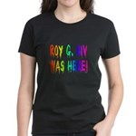 Roy G. Biv Graffiti (rainbow) Women's Dark T-Shirt