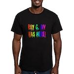 Roy G. Biv Graffiti (rainbow) Men's Fitted T-Shirt