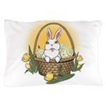 Easter Bunny Basket Pillow Case