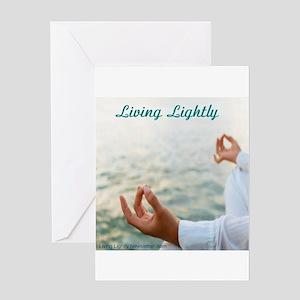 Living Lightly Card