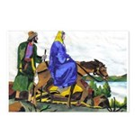 Christmas Christian Artwork Postcards (Package of