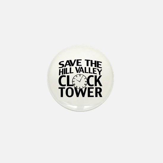 Save The Clock Tower Mini Button