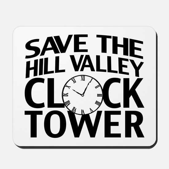 Save The Clock Tower Mousepad