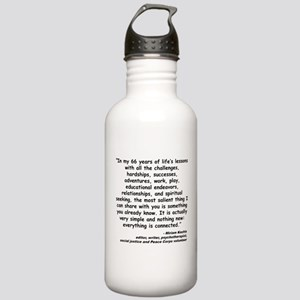 Kashia Connected Quote Stainless Water Bottle 1.0L