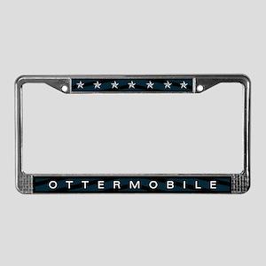 Ottermobile License Plate Frame
