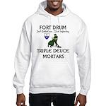 2-22 Infantry - Triple Deuce Hooded Sweatshirt