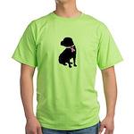 Shar Pei Breast Cancer Suppor Green T-Shirt