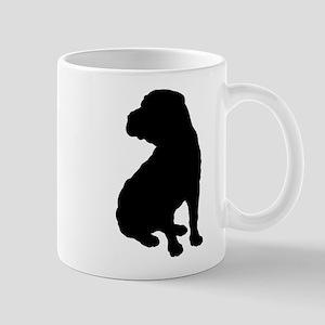 Shar Pei Silhouette Mug
