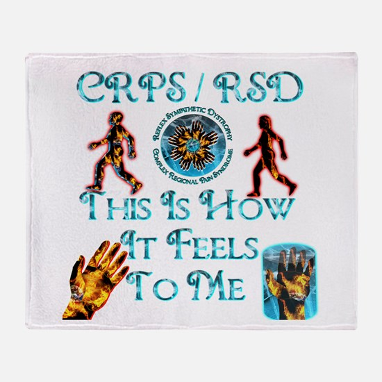 CRPS / RSD This Is How It Fee Throw Blanket