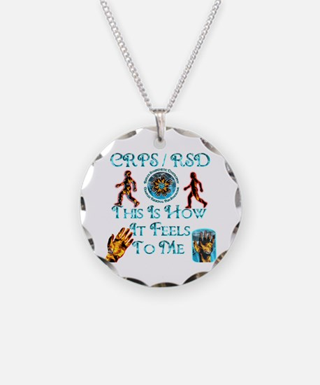 CRPS / RSD This Is How It Fee Necklace