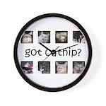 Got catnip Wall Clock