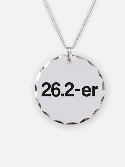 26.2-er or Marathoner Necklace