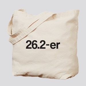 26.2-er or Marathoner Tote Bag