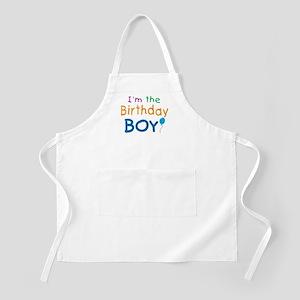 Birthday Boy BBQ Apron