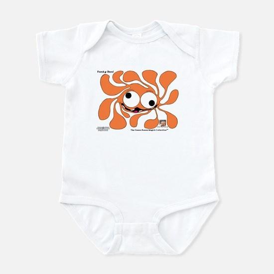 Funky Sun! In Pumpkin Infant Bodysuit