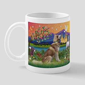 Fantasy Land Husky Mug