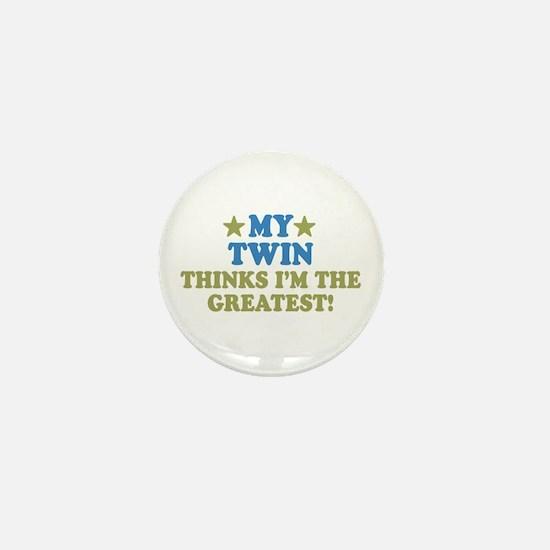 My Twin Mini Button