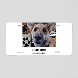 Food Aluminum License Plate