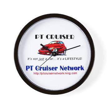 PT Cruiser Network Wall Clock