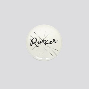 Abstract Runner Mini Button