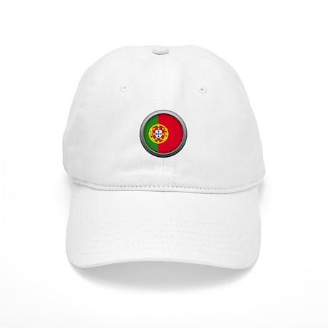 Round Flag - Portugal Cap