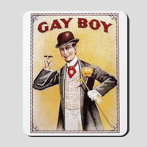 """""""Gay"""" Boy Mousepad"""
