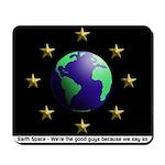Earth Space Mousepad