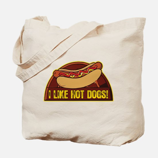 I LIKE HOT DOGS Tote Bag