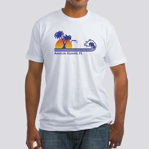 Amelia Island Florida Fitted T-Shirt