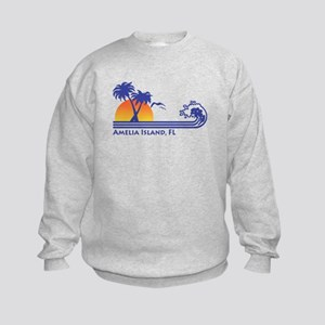 Amelia Island Florida Kids Sweatshirt