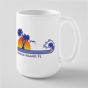 Amelia Island Florida Large Mug