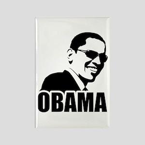 Obama Sunglasses Rectangle Magnet