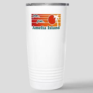 Amelia Island Stainless Steel Travel Mug