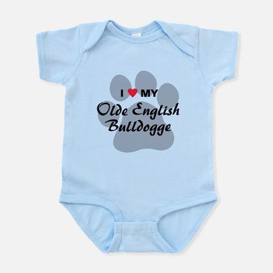 Olde English Bulldogge Infant Bodysuit