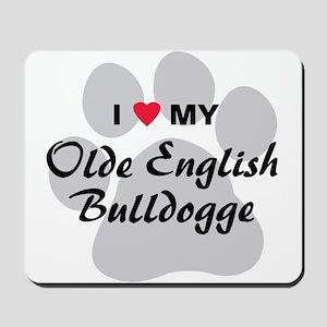 Olde English Bulldogge Mousepad