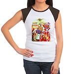 Puss 'n Boots Women's Cap Sleeve T-Shirt