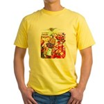 Puss 'n Boots Yellow T-Shirt