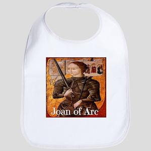 Joan of Arc Baby Bib