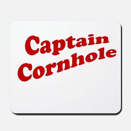 Captain Cornhole Mousepad