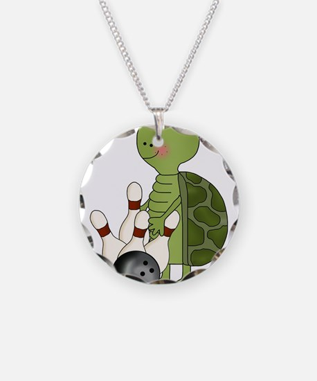 bowling turtle Necklace