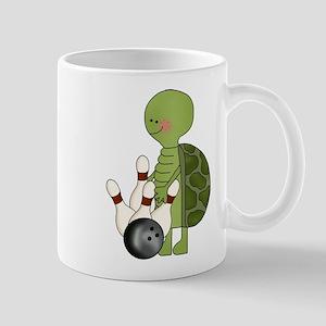 bowling turtle Mug