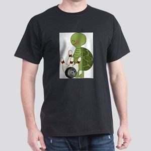 bowling turtle Dark T-Shirt