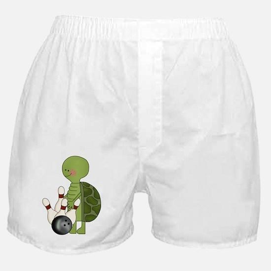 bowling turtle Boxer Shorts