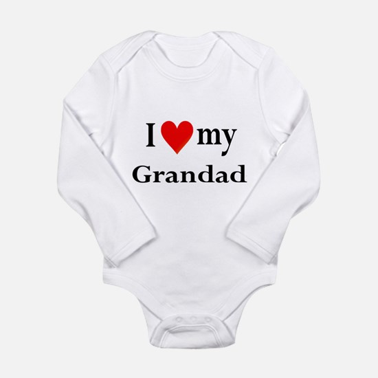 I Love My Grandad: Long Sleeve Infant Bodysuit