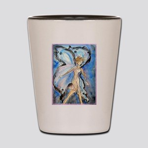 Fairy, colorful, Shot Glass