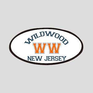 Wildwood NJ - Varsity Design Patches
