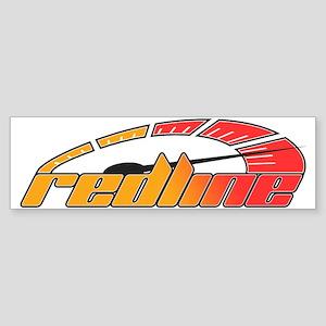 Redline Tach Sticker (Bumper)