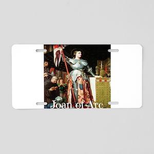 Joan of Arc Aluminum License Plate