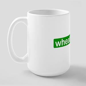wheat s*cks Large Mug