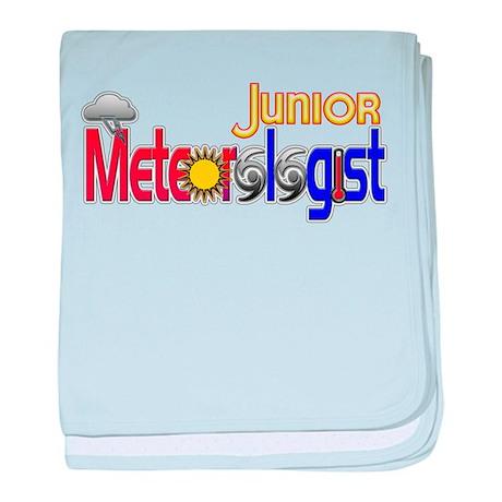 Junior Meteorologist baby blanket